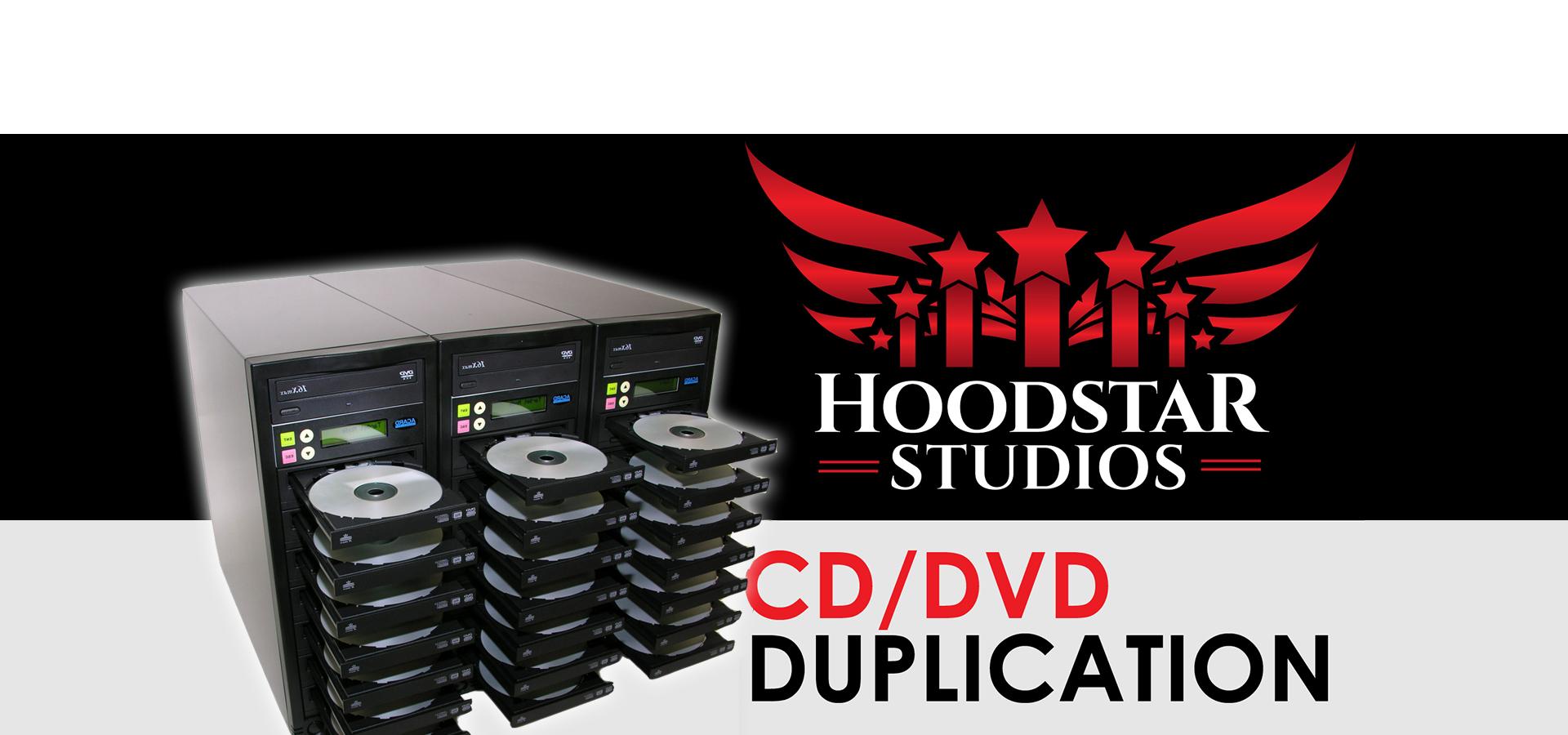 Cd Dvd Duplication Hoodstar Studios